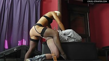 MISTRESS ZITA - bound and fucked in the ass