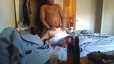 Ambush creampie for Sister in law Hidden Cam Pawg fucking Caught in act!!!