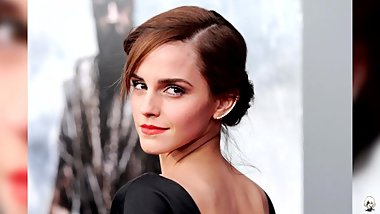 Emma Watson Jerk Off To The Beat Challenge (Very Hard)