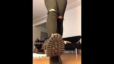 boots pov findom trample