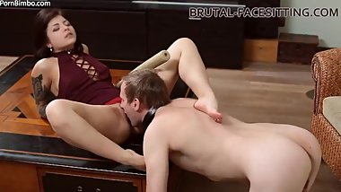 Brutal-Facesitting - Mistress Jynx