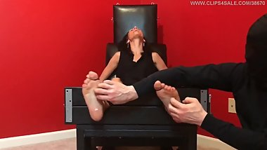 Vivian in the Tickle Chair - PREVIEW