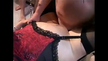 Her first time cuckold..