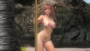 Dead or Alive 5  Mods: Pole Dance - Honoka