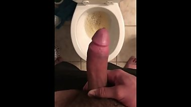 Peeing With A Boner