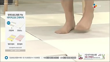 korean nylon feet in tv01