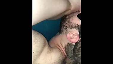 Slow pussy eating