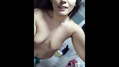 Youn Asian girl take off her cloths to prove her love to her BF - part 2