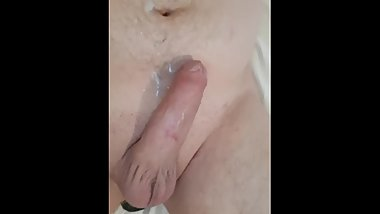 Fag was finally allowed to cum after 7 days
