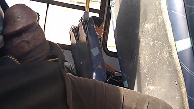 Free cock in bus