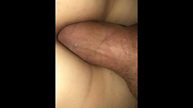 Cumming in tight pussy
