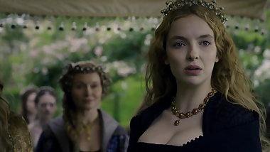 Jodie Comer (Heaving Tits) White Princess