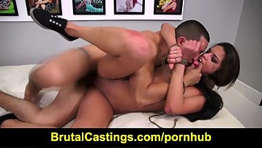 Brutal Castings - Carrie Brooks - Hardcore Casting Couch BDSM