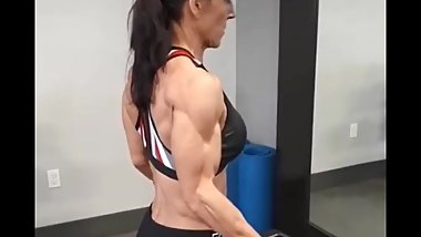 New Girl! Giant back, thick ripped -Pauline Nelson