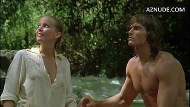 Tarzan feels Jane's boobs -Bo Derek in TarzanTheApeMan