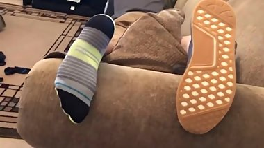 His Shoes, Socks, and Feet