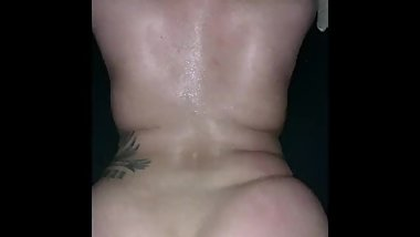 Pound session from the back