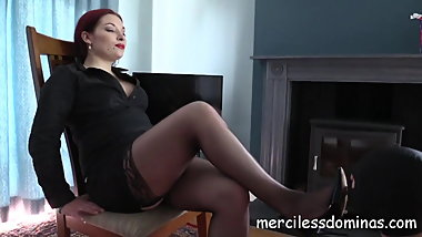 Dominated By Goddess Sophia - Strict British Mistress
