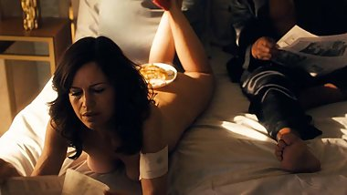 Carla Gugino Naked Scene from 'Jett' On ScandalPlanet.Com