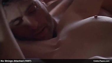 Celebrity Actress Cheryl Pollak Naked & Romantic Movie Scene