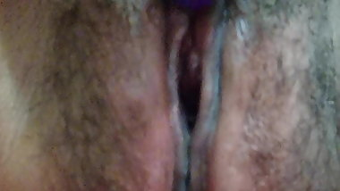 Clit play and orgasm