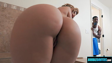 Jada Stevens Goes Black