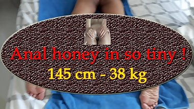 AnalHoneyInSoTiny - Ass exploration and anal oil preparation with teasing