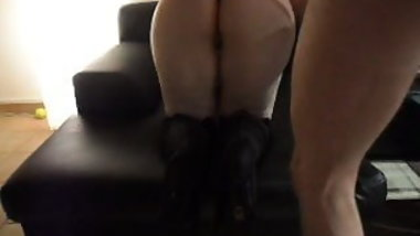 From behind in Boots