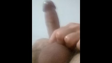 Solo phone between legs challenge Edging no ejaculation yet day 1 oiled