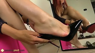 The Super Video of Feet Fetish ! Sexy Goddess By FeetLover-666 #SexyFeet ^^