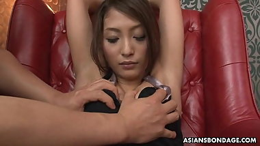 Aoi Miyama loves wild group action and multiple sex toys