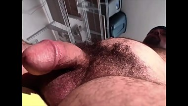 Beefy Muscle Daddy Thick Natural Bush And Mushroom Head Cock