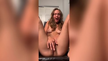 Striptease And Finger Fuck