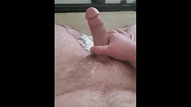 Slow oozing cum