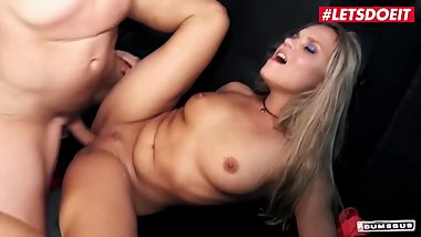 LETSDOEIT - Super Hot Blonde Babe Has The Fuck Of Her Life In The SEX BUS