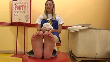 Blonde Smile Soles - Size 40