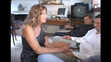 Aged Italian Mature Sucks and Assfucks 3 Cocks