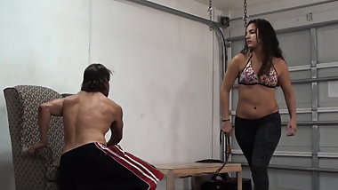 Plead F - Hard Whipping and Spanking with Toni