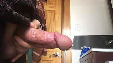 huge load after masturbation