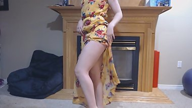 NEW YELLOW SUNDRESS