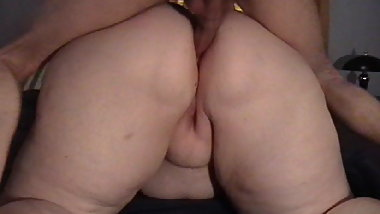 My BBW Ex loves it in her ass