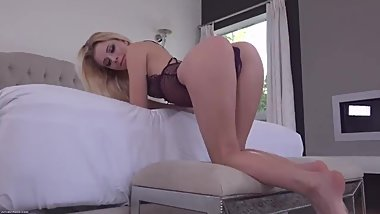 Porn Music Video with Hot Blonde Chick