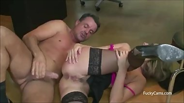Secretary Gets Fucked in Office