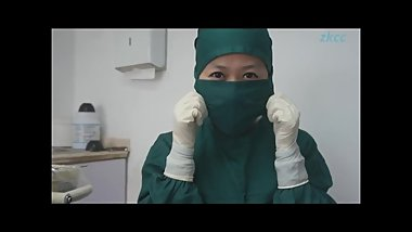 Chinese gloves nurse