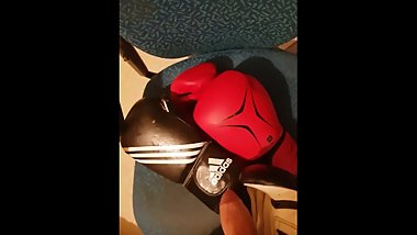 My loves boxing glove