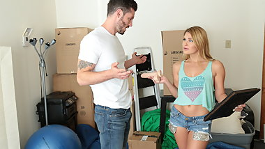 Storage Locker Sex with Abby Cross