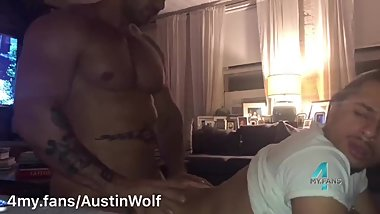 fuckin Armond Rizzo on the sofa while bf is asleeep: 4my.fans/austinwolf