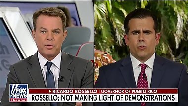 CORRUPT PUERTO RICAN GOVERNOR GETS DESTROYED BY FOX NEWS REPORTER