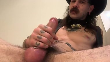 NASTY BIG COCK COWBOY ABUSES YEW N TAUNTS YEW WITH CUM...TWICE