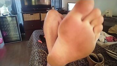 Showing Off My Feet